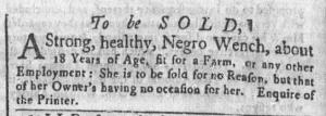 Jun 13 - Newport Mercury Slavery 1