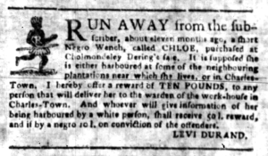 Jun 13 - South Carolina Gazette Slavery 2