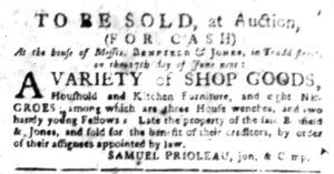 Jun 13 - South Carolina Gazette Slavery 6