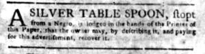 Jun 13 - South Carolina Gazette Slavery 8