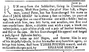 Jun 16 - Pennsylvania Journal Slavery 1