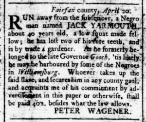 Jun 16 - Virginia Gazette Rind Slavery 2