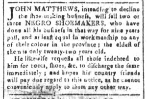 Jun 24 - South-Carolina and American General Gazette Slavery 4