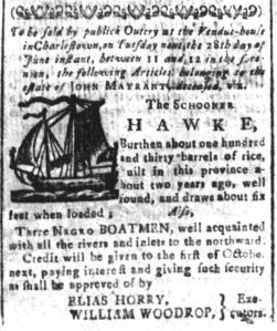 Jun 24 - South-Carolina and American General Gazette Slavery 8