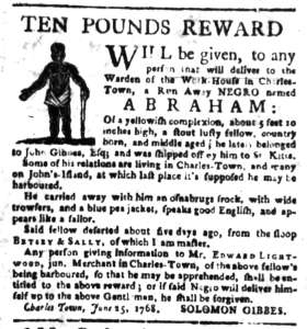 Jun 27 - South Carolina Gazette Slavery 5