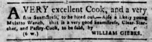 Jun 6 - South Carolina Gazette Slavery 1