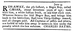 Jun 9 - Pennsylvania Journal Slavery 2