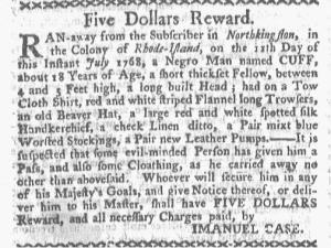 Aug 1 - Boston-Gazette Slavery 1
