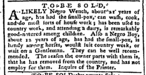 Aug 1 - Pennsylvania Chronicle Slavery 2