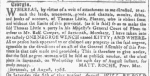 Aug 3 - Georgia Gazette Slavery 5