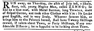 Aug 4 - Pennsylvania Gazette Slavery 2