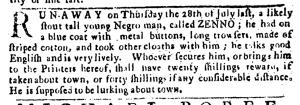 Aug 4 - Pennsylvania Journal Slavery 1