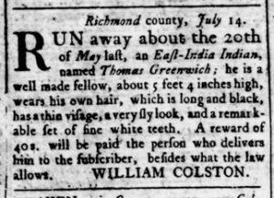 Aug 4 - Virginia Gazette Rind Slavery 4