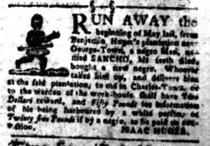 Aug 8 - South-Carolina Gazette Slavery 5