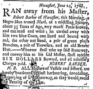 Jul 18 - Boston Post-Boy Slavery 1