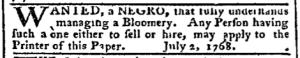 Jul 18 - Pennsylvania Chronicle Slavery 2