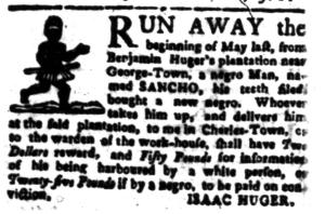 Jul 18 - South-Carolina Gazette Postscript Slavery 7