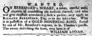 Jul 19 - South-Carolina Gazette and Country Journal Slavery 12