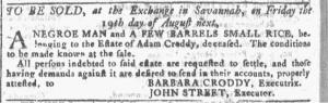 Jul 20 - Georgia Gazette Slavery 9