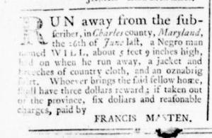 Jul 21 - Virginia Gazette Rind Slavery 2