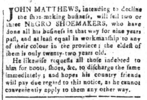 Jul 22 - South Carolina and American General Gazette Slavery 9