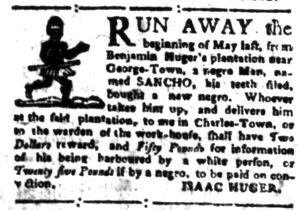 Jul 25 - South-Carolina Gazette Slavery 11