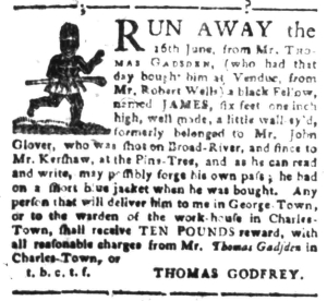 Jul 25 - South-Carolina Gazette Slavery 2