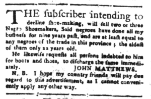 Jul 25 - South-Carolina Gazette Slavery 3
