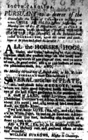 Jul 25 - South-Carolina Gazette Slavery 9