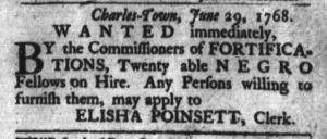 Jul 26 - South-Carolina Gazette and Country Journal Slavery 5