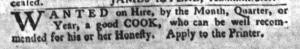 Jul 26 - South-Carolina Gazette and Country Journal Supplement Slavery 5