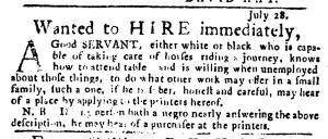 Jul 28 - Pennsylvania Journal Slavery 1