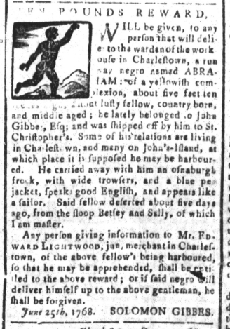 Jul 29 - South Carolina and American General Gazette Slavery 11