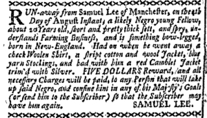 Aug 15 - Boston-Gazette Supplement Slavery 1