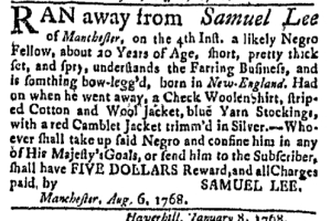 Aug 15 - Massachusetts Gazette Green and Russell Slavery 3