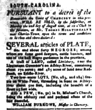 Aug 15 - South-Carolina Gazette Slavery 10