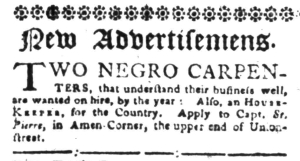 Aug 15 - South-Carolina Gazette Slavery 4