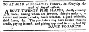 Aug 16 - South-Carolina Gazette and Country Journal Slavery 4