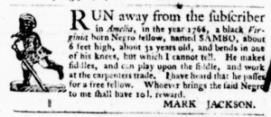 Aug 18 - Virginia Gazette Purdie and Dixon Slavery 3