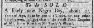 Aug 21 - 8:15:1768 Newport Mercury