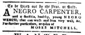 Aug 22 - South-Carolina Gazette Slavery 11