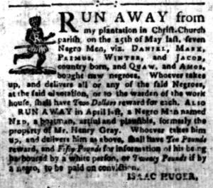 Aug 22 - South-Carolina Gazette Slavery 2