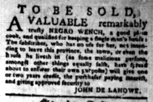 Aug 22 - South-Carolina Gazette Slavery 6