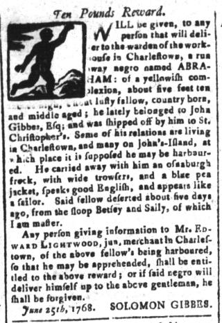 Aug 26 - South-Carolina and American General Gazette Slavery 5