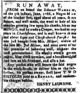 Aug 26 - South-Carolina and American General Gazette Slavery 9