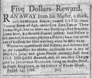 Aug 29 - Newport Mercury Slavery 1