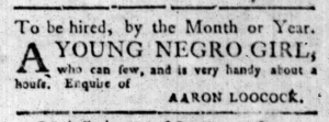 Oct 3 - South-Carolina Gazette Slavery 3