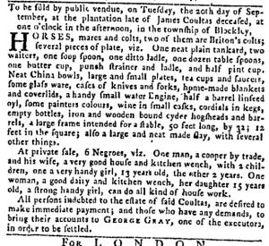 Sep 1 - Pennsylvania Gazette Slavery 2