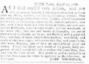 Sep 1 - Virginia Gazette Purdie and Dixon Slavery 5