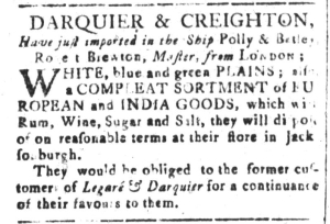 Sep 16 - 9:16:1768 South-Carolina and American General Gazette